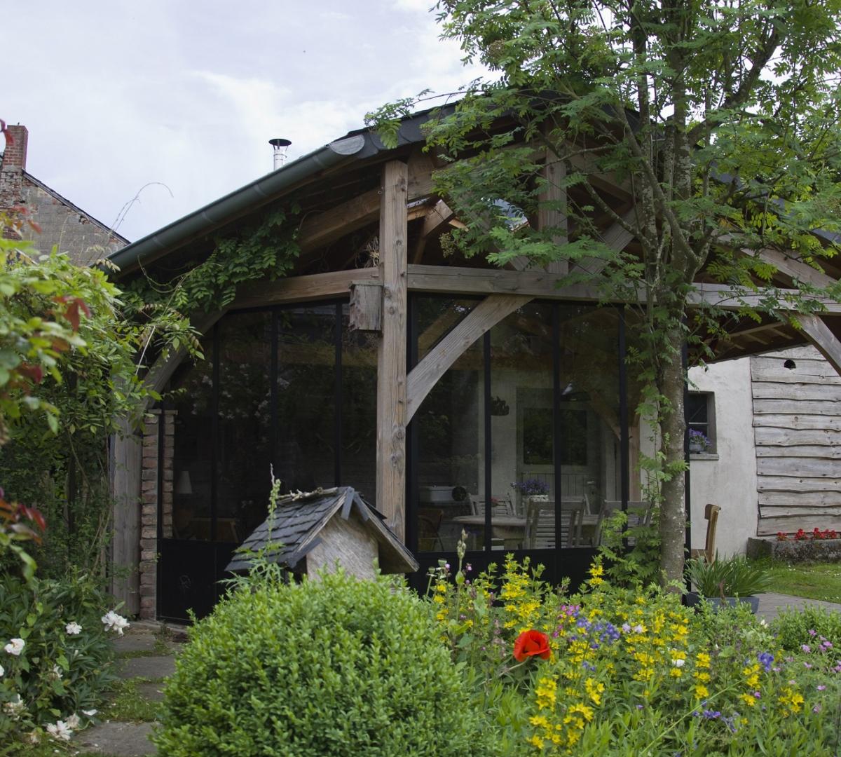 Superbe terrasse couverte
